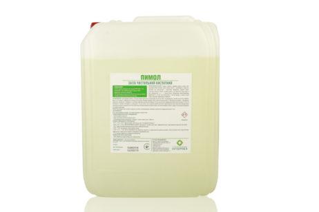 Интердез Пимол - 10 литров -Концентрированное кислотное чистящее средство для мытья и удаления загрязнений