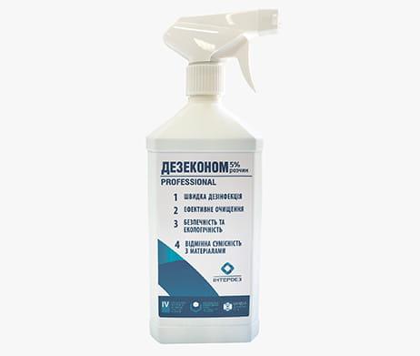 Интердез Дезеконом 5% раствор - готовое дезинфицирующее средство